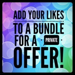 Other - Bundle for private offer - even one item!